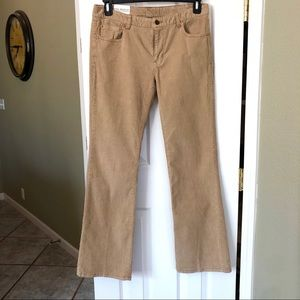 NWT Polo by Ralph Lauren Corduroy Tan Jeans Sz. 10